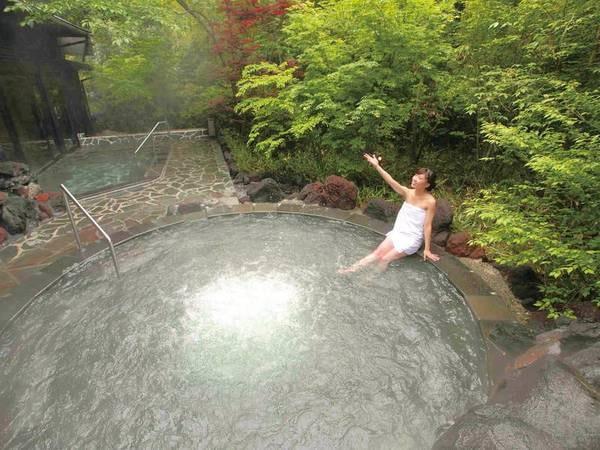 【霧島唯一の展望温泉の宿 霧島観光ホテル】霧島唯一の展望温泉がある宿。趣の異なる5種の温泉を満喫