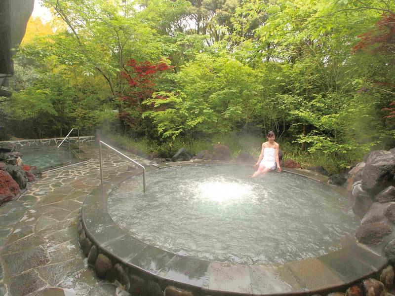 露天風呂/もみじの湯 霧島の自然とともに温泉を愉しむ