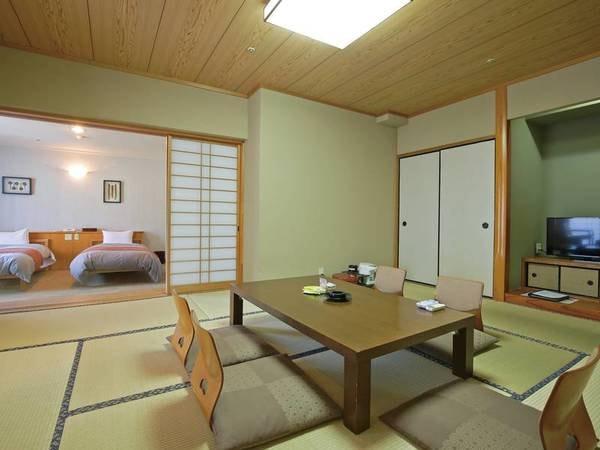 【北】和洋室/例 ゆったりくつろぐならこのお部屋!ご家族やカップルでものんびり旅の疲れを癒す♪