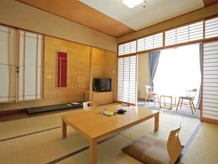 和室/例 シンプルでオーソドックスな和室です。 霧島観光ホテルのスタンダード客室