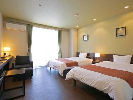 【北】ツイン/例 お気軽にご利用いただけるリーズナブルな客室です。旅の疲れをリフレッシュできる快適な洋室