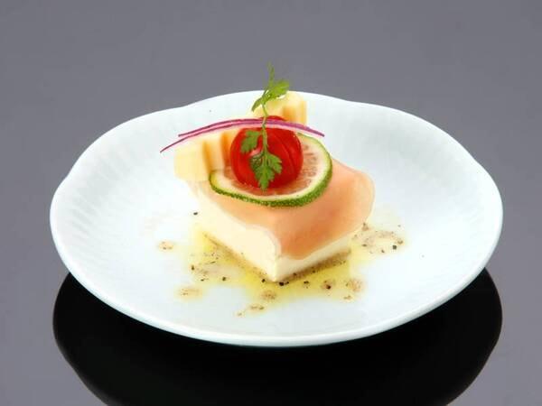 【ズワイ蟹&黒牛会席/一例】