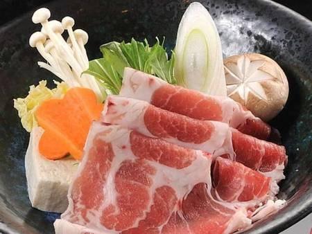 黒豚しゃぶ鍋付会席料理/一例