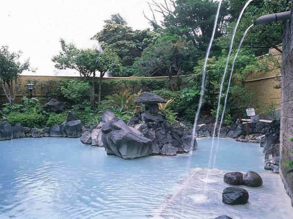 【霧島国際ホテル】【お風呂評価97点超え!※2019/08/28時点】9種の楽しみ方がある温浴施設。霧島随一の大露天風呂で硫黄泉を堪能!