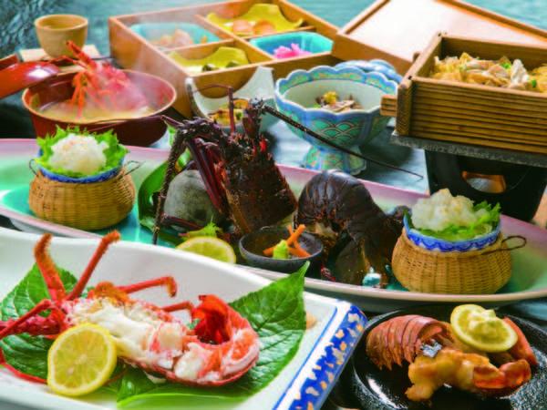 【竜宮会席/例】増量お造り、活〆潮ゆがき、ステーキ、味噌汁など!存分に楽しめる