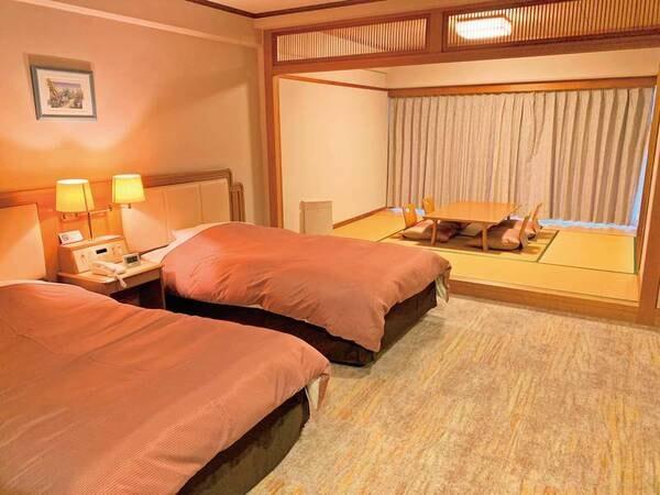 【和洋室/例】60平米と広々!御影石の展望風呂付