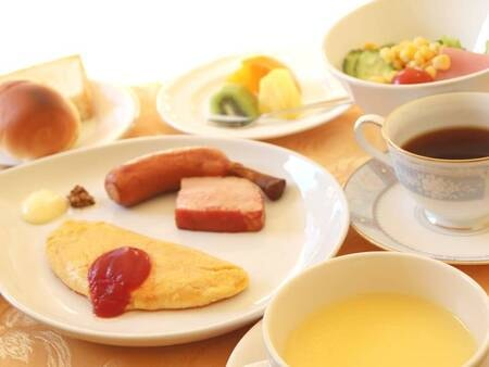 【朝食(洋食)/例】朝ごはんは和食・洋食からお選びいただけます