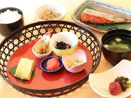 【和朝食/一例】朝食は和食と洋食よりお選びいただけます。