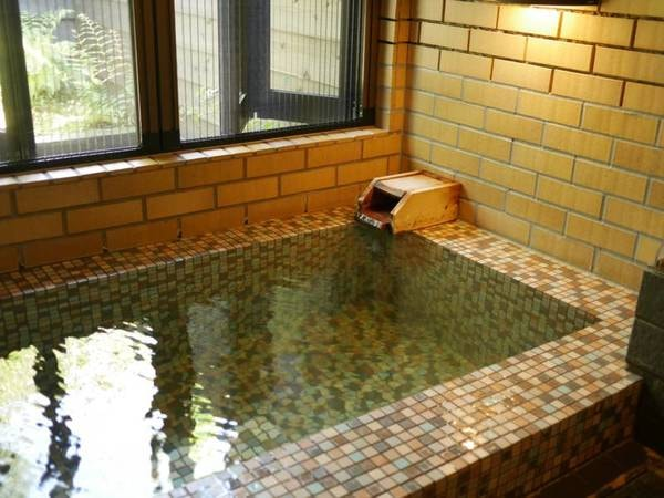 【Cタイプ客室風呂/例】源泉かけ流しの温泉を心行くまで