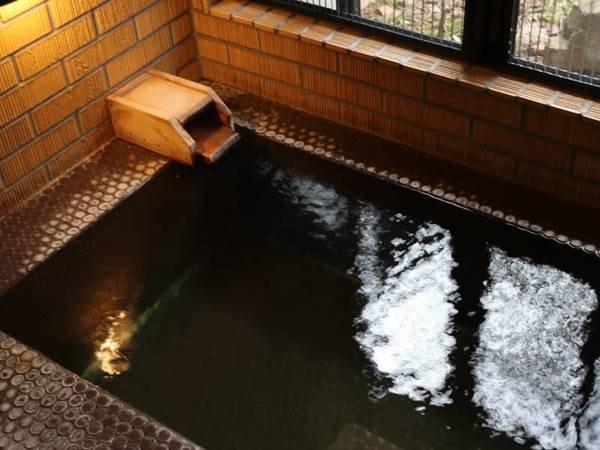 【Bタイプ/客室風呂】かけ流しの温泉をひとりじめ