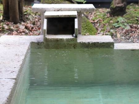 【Aタイプ/客室露天風呂】源泉かけ流しの良質な湯を堪能