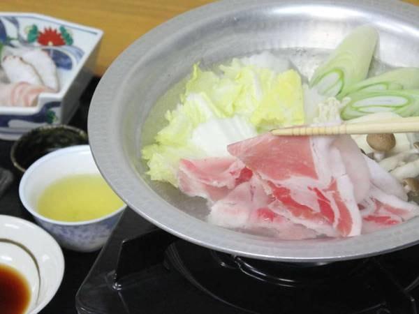 【夕食/例】鹿児島の黒豚しゃぶしゃぶ御膳も選べる!