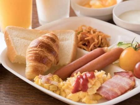 【朝食/例】洋食メニューも充実!