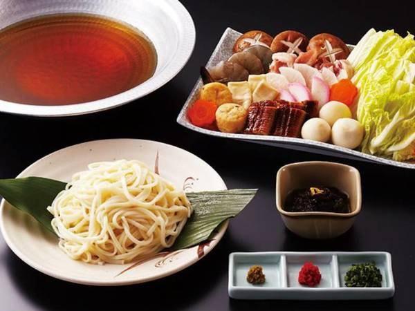 5つのコースから選べる夕食【うどんすきコース/例】