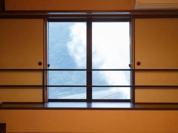 部屋から眺められる景色