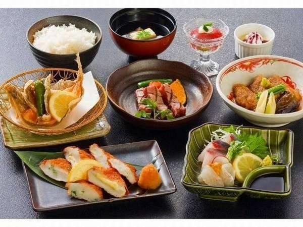くうやオリジナルの薩摩会席料理/一例