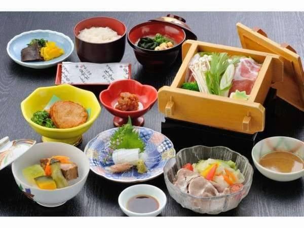 薩摩黒豚づくし膳(朝食)/一例