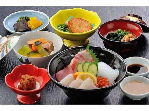 薩摩うんまか海鮮丼(朝食)/一例