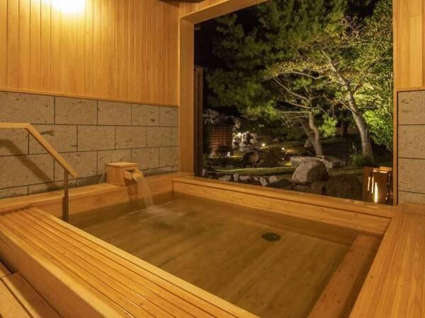 【貸切風呂/桧扇の湯】