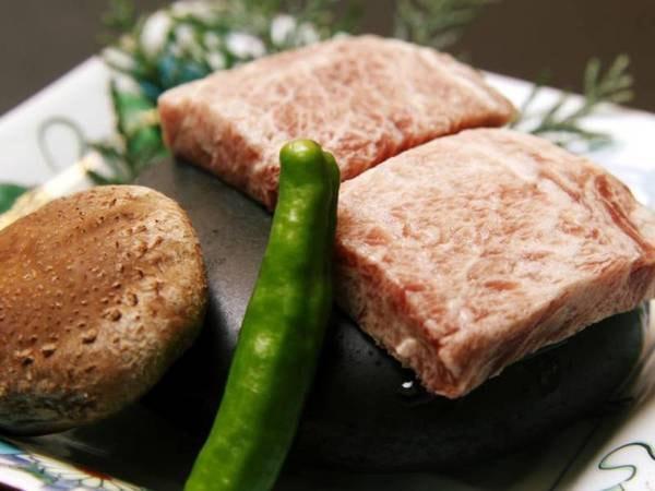 【和牛の石焼きステーキ/例】