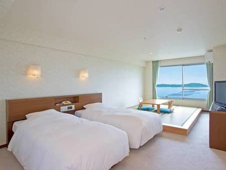 【本館和洋室/例】遠くに浜名湖を望む、過ごしやすい和洋室/例