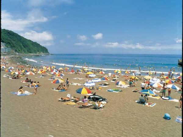 夏の海水浴イメージ一例 ※熱川YOU湯ビーチまで徒歩7分