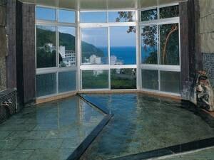 【みはらし殿方風呂】天然温泉100%源泉かけ流し!