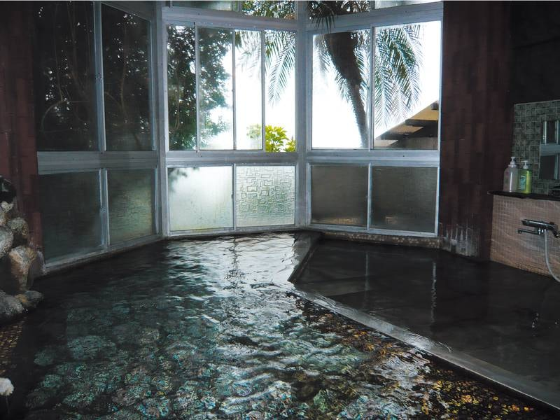 【みはらし婦人風呂】天然温泉100%源泉かけ流し!