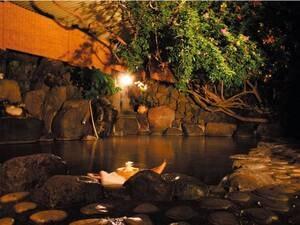 【みはらし露天風呂】熱川温泉の街並みと絶景のオーシャンビューを眺める!
