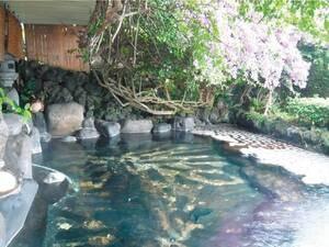 【みはらし露天風呂】源泉かけ流し!熱川温泉の街並みと絶景のオーシャンビューを眺める!