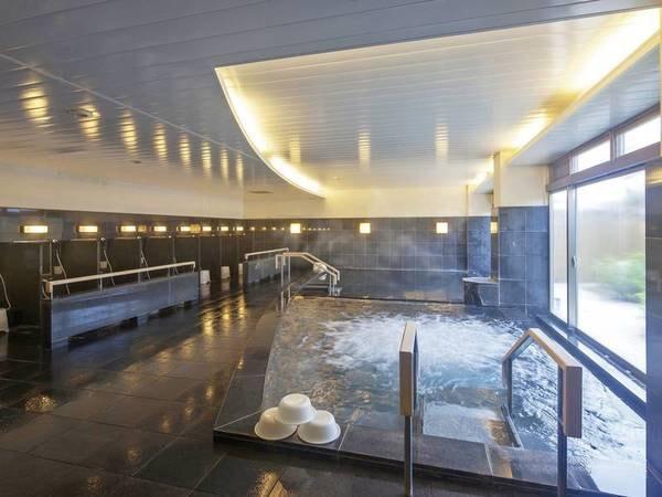 【大浴場】ジャグジーを取り入れた大浴場