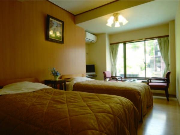 ベッドご希望の方はこちら。眺望なしのお部屋となります