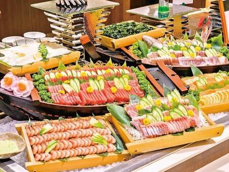 【バイキング/例】地魚含むピチピチお造り