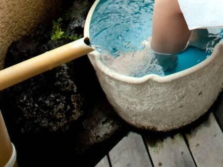 【デラックス和洋室/例】ミニ足湯付き