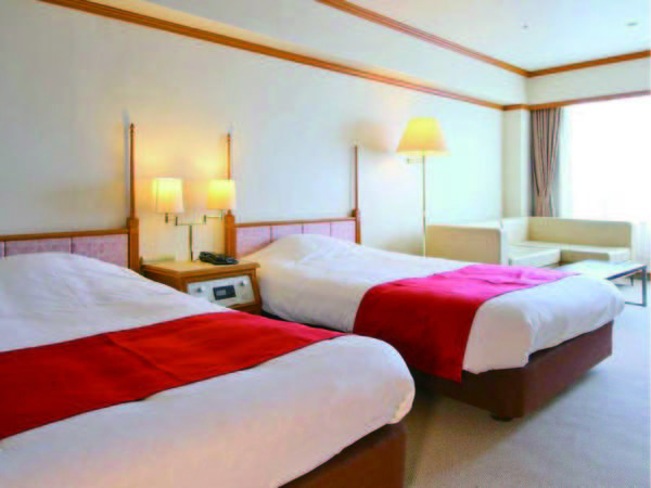 【和洋室/例】ベッドと和室いいとこどりの広々の和洋室を確約!