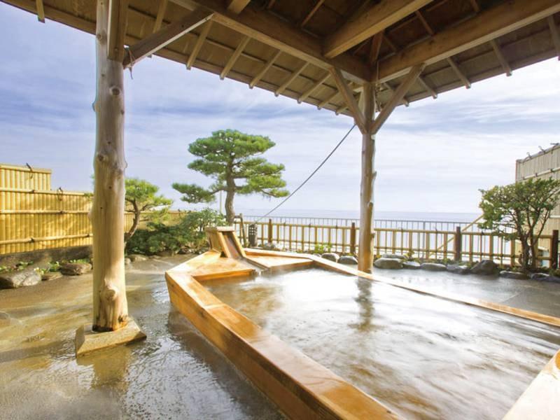 【貸切風呂/海舟苑】大海原をのぞむ眺望抜群の最上階の展望大浴場