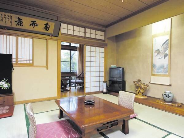 【和室/例】おばあちゃん家に帰ったような落ち着く純和風客室