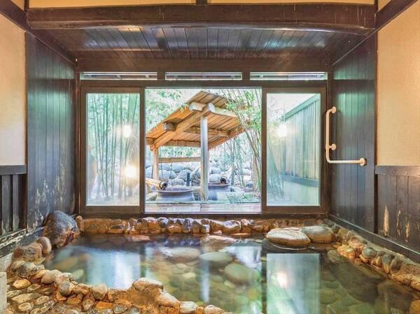 広々とした貸切風呂を10か所ご用意※うち、露天風呂が併設された貸切風呂は7箇所!ゆったりとした温泉巡りをお楽しみ頂けます