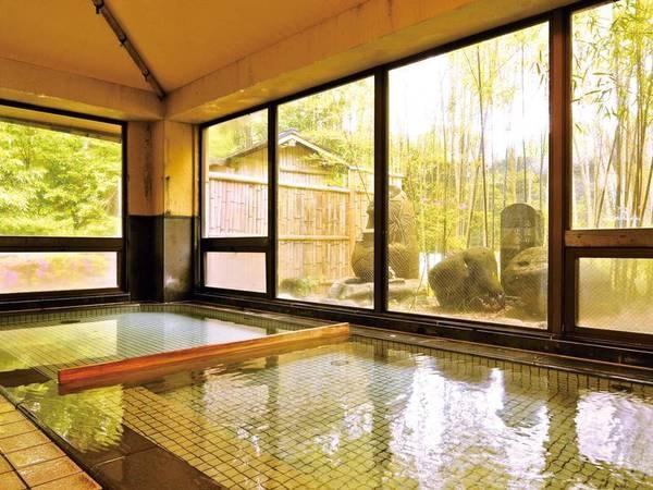 【大浴場・たからの湯】温かな湯が心地よい