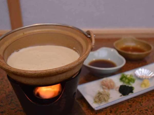 朝食のみ/手作り豆腐一例