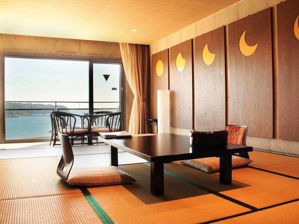 【和室/例】広さに大満足!日本旅館の良さを残しつつ、スタイリッシュな造りの12畳+広縁付