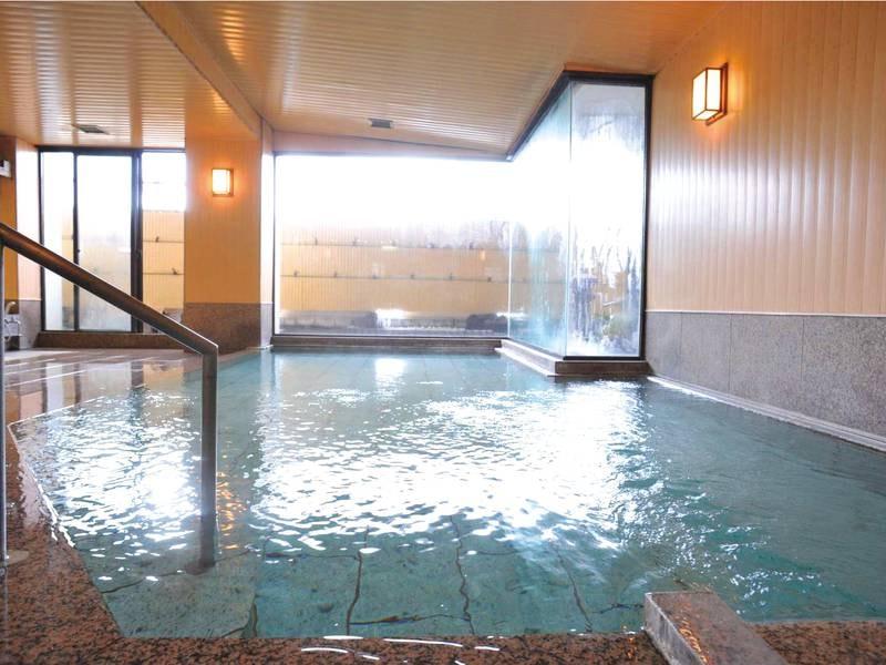 【大浴場】自家源泉「平戸の湯」を贅沢にかけ流し