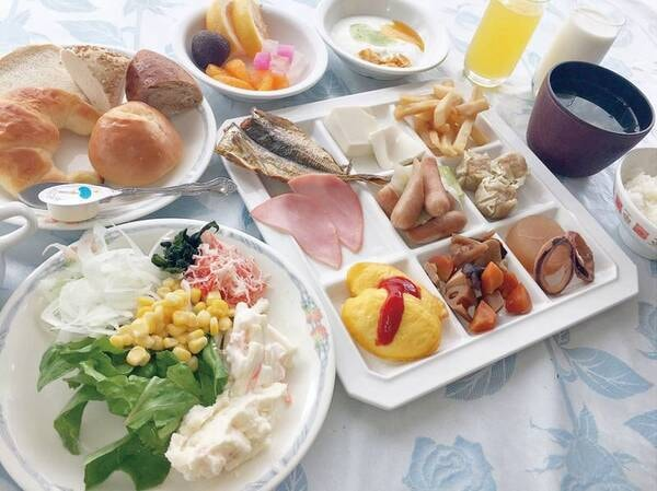 【朝食バイキング/例】朝も充実の約50種バイキング