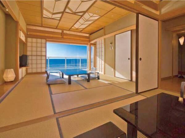 人気の海側和洋室・海側和洋室に無料グレードアップ♪(※写真は一例)