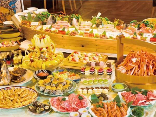 【夕食/例】厳選食材が並ぶ!下田ならではの全60種バイキング!