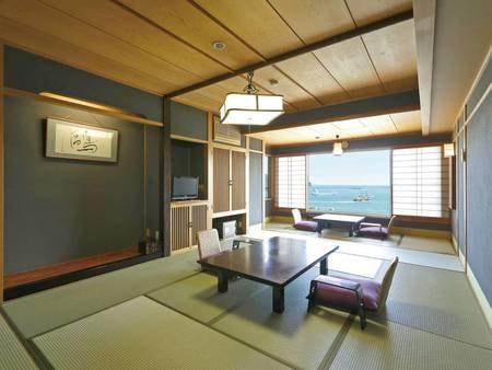 【客室/例】全室オーシャンビューの10畳+広縁付和室