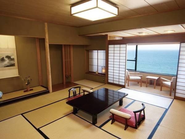 【和室/例】本間12.5畳+次の間4.5畳のゆったり二間客室をご用意