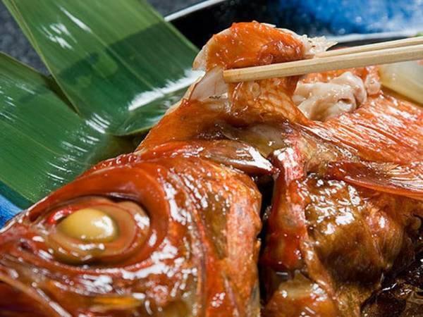 【スタンダードプラン/例】伝統の金目鯛はまるごと「姿煮」