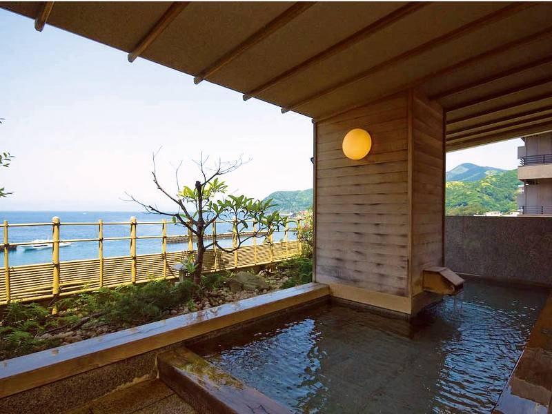 【露天風呂】露天風呂から見る絶景は一見の価値あり!