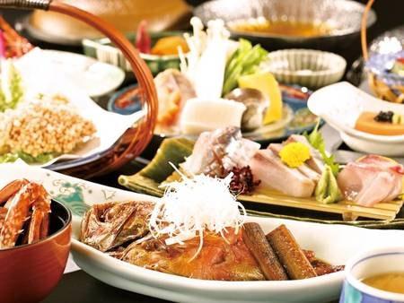 【近海の幸プラン/例】金目鯛煮付けなど海鮮会席満喫